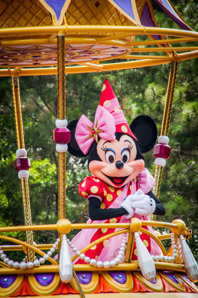 Minnie on Parade